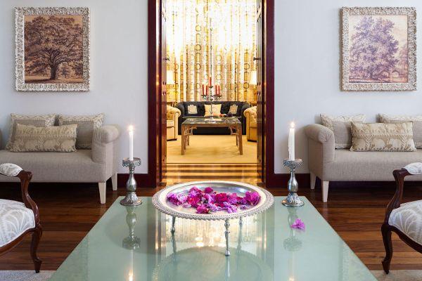 Decoração de luxa na Casa de Santo Antônio Hotel Boutique | Divulgação