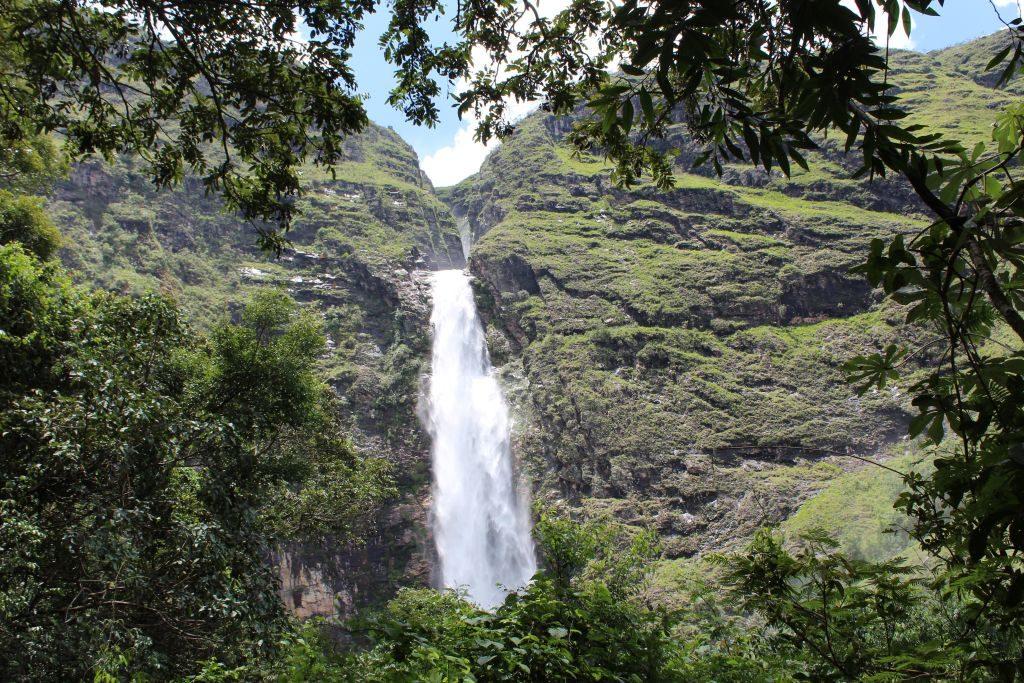 Vista da cachoeira na Serra da Canastra | Divulgação