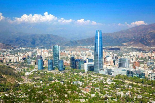 Vista da cidade de Santiago | Pixabay