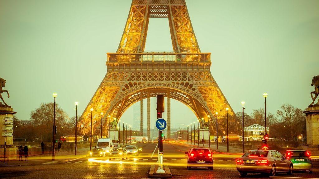 Torre Eiffel em Paris, na Franças | Pixabay
