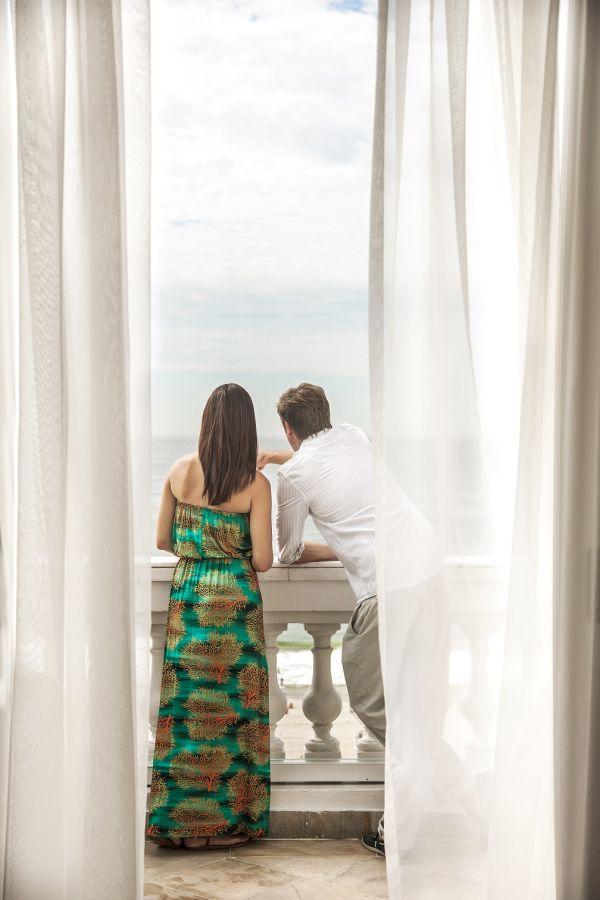 Vista do hotel | Divulgação