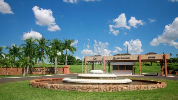Vista do hotel no interior paulista | Divulgação