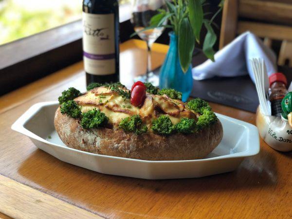 Bacalhau no Pão Português é um dos carros-chefe | Divulgação