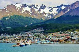 Turismo na Argentina. Ushuaia, na Argentina