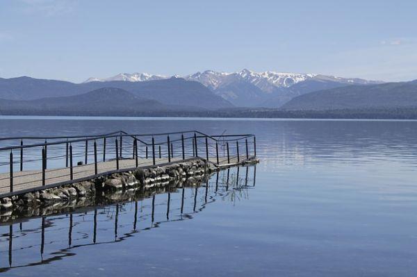 As montanhas em Bariloche | Divulgação
