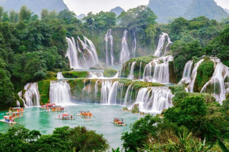 Ban Gioc Waterfall, China e Vietnã | Pixabay