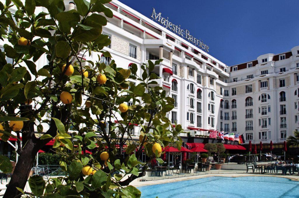 Hotel Barriere Le Majestic - Cannes é opção para turistas   Divulgação
