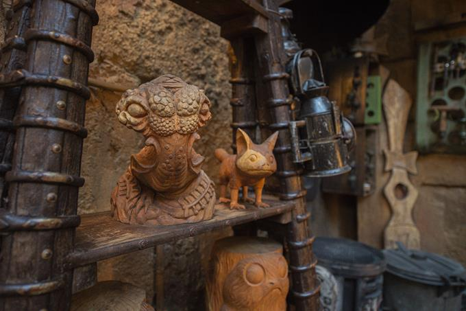 When guests explore Star Wars: Galaxy's Edge at Disneyland Park in California and opening Aug. 29, 2019, at Disney's Hollywood Studios in Florida, they will be immersed in an authentic Star Wars experience rich with detail from a galaxy far, far away. (Abigail Nilsson, photographer)