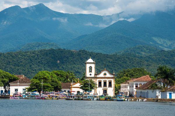 A cidade de Paraty também possui boas opções de passeios históricos | Divulgação