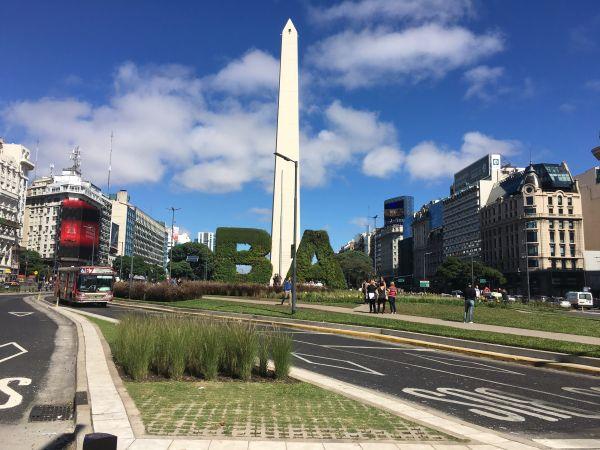 O Centro da cidade também é uma opção de lazer ao ar livre | Divulgação