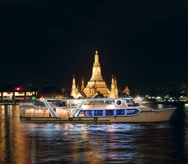 Passeio de barco é opção para turistas | Divulgação