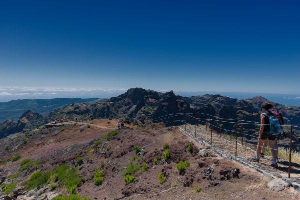 O Pico Ruivo é o terceiro mais alto de Portugal | Divulgação