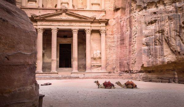 Vista do sítio arqueológico no Jordânia | Divulgação
