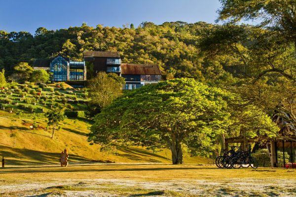 Área de lazer do Botanique Hotel e SPA | Divulgação
