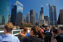 passeio de barco Rio Chicago