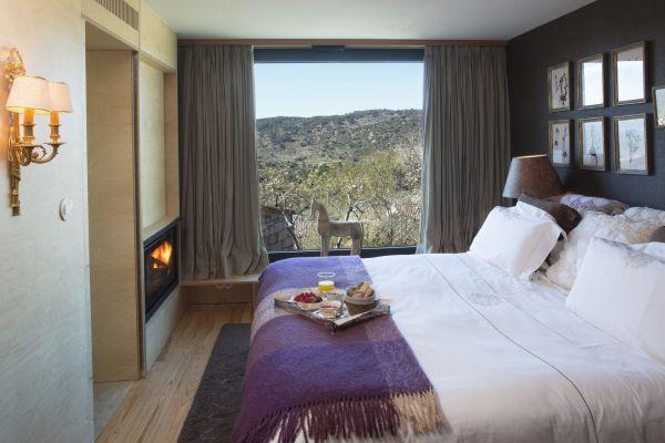 Vista do quarto do hotel em Portugal | Divulgação
