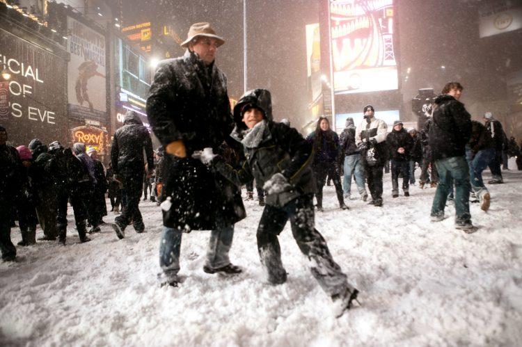 Neve em Nova York