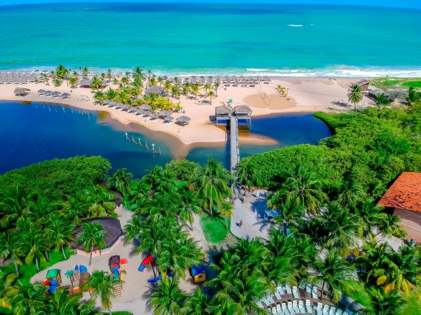 Vista aérea do Pratagy Beach All Inclusive Resort | Divulgação