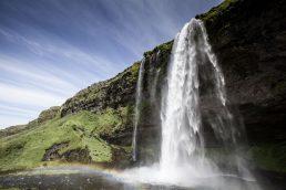 8 - Seljalandsfoss, Islândia – 139.669 hashtags | Pixabay