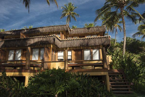 Vista do hotel em Itacaré | Divulgação