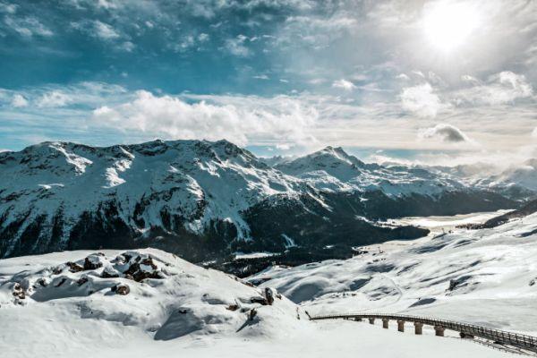 Vista de St. Moritz | Divulgação