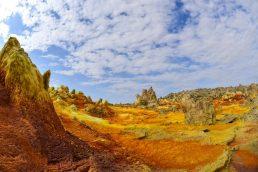 Dallol, Etiópia - 60°C   Pixabay
