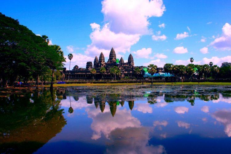 Angkor Wat, no Camboja | Pixabay
