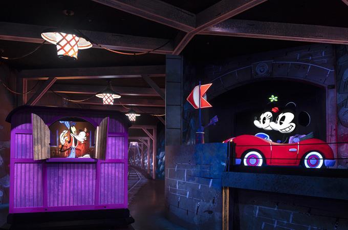 Mickey e Minnie's Runaway Railway, the family friendly new attraction opening March 4, 2020, in Disney's Hollywood Studios at Walt Disney World Resort in Lake Buena Vista, Fla. (Matt Stroshane, photographer)