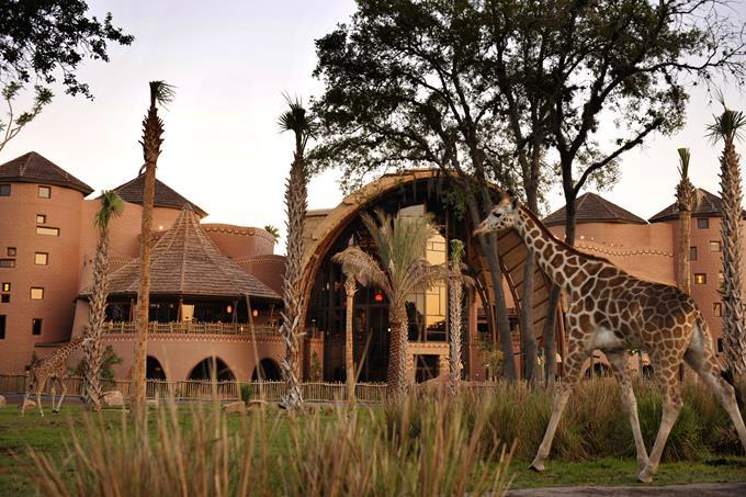 Hotéis de luxo da Disney