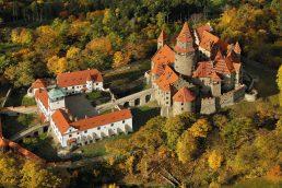 Castelo na República Tcheca