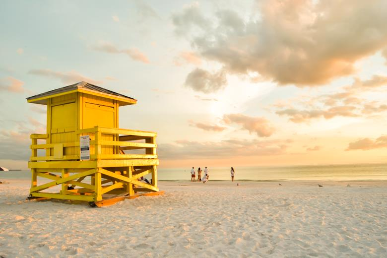 Praia na Flórida - Sarasota