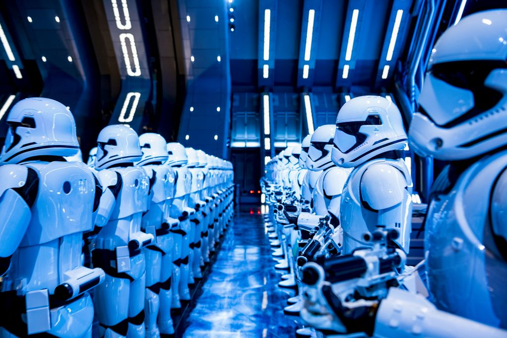 Dia de Star Wars Rise of the Resistance