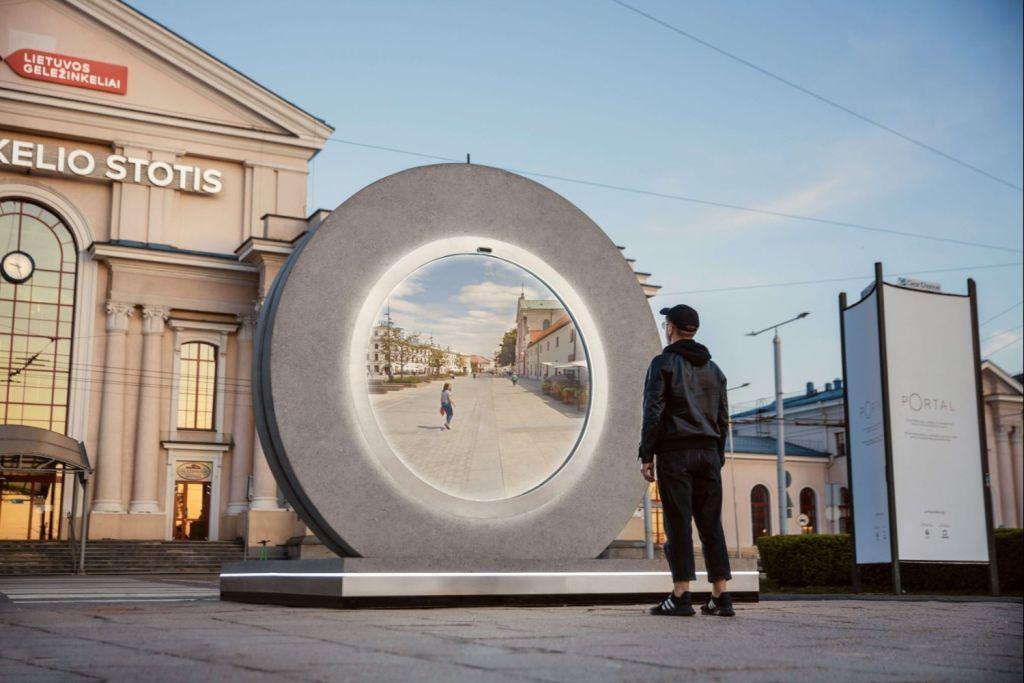"""Lituânia cria """"portal"""" para cidade da Polônia"""